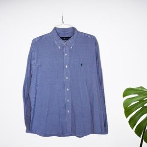 Ralph Lauren | Classic Gingham Buttondown Shirt XL